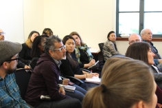 On February 1, 2020, California State University Northridge students presented a workshop on the importance of Ethnic Studies for SUA administration, staff, and faculty. Photo by Casey Chaffin