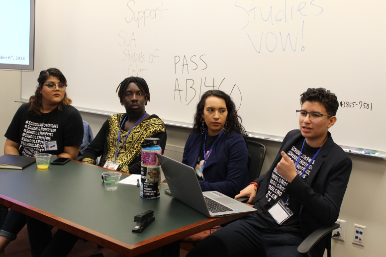 CSUN students present