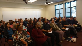 Full room at Ethnic Studies workshop