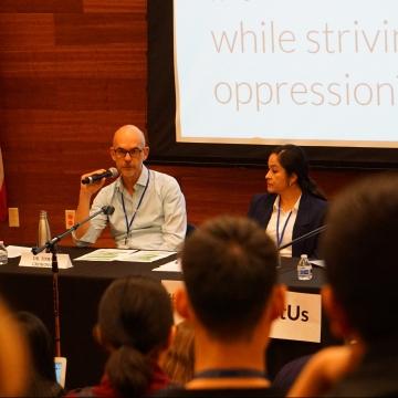 Panelists speak